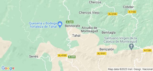 Mapa de Tahal