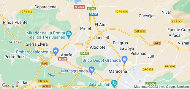 Mapa de Albolote