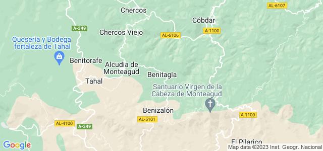 Mapa de Benitagla