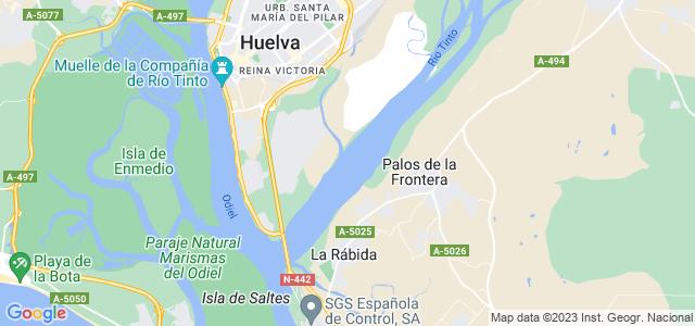 Mapa de Granada de Río-Tinto