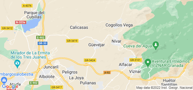 Mapa de Güevéjar