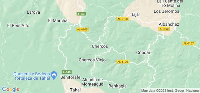 Mapa de Chercos
