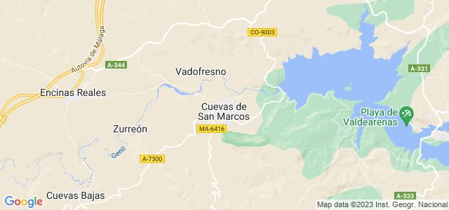 Mapa de Cuevas de San Marcos