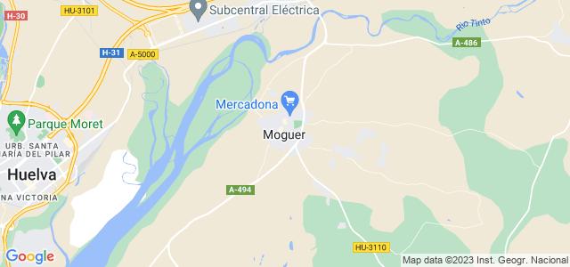 Mapa de Moguer