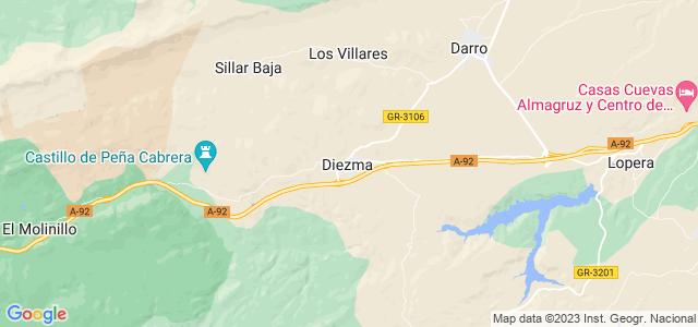 Mapa de Diezma