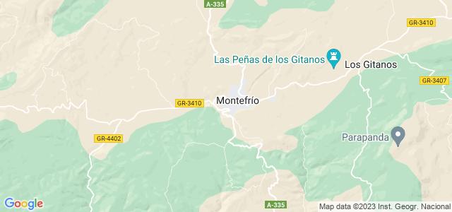Mapa de Montefrío