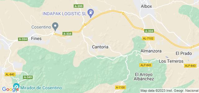 Mapa de Cantoria