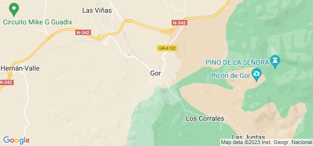 Mapa de Gor