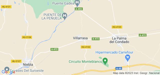 Mapa de Villarrasa