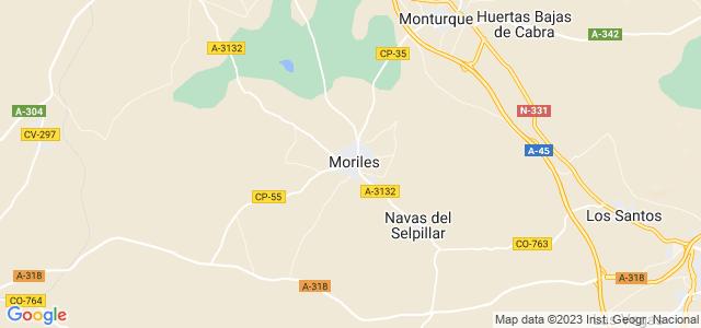 Mapa de Moriles