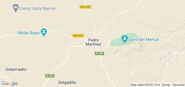 Mapa de Pedro Martínez