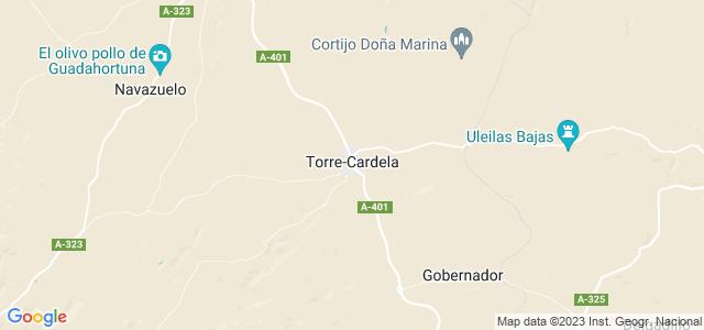 Mapa de Torre-Cardela