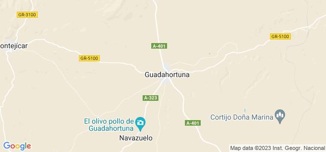 Mapa de Guadahortuna