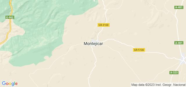 Mapa de Montejícar