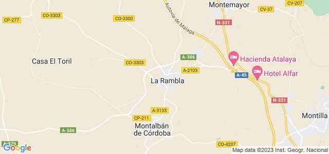 Mapa de Rambla