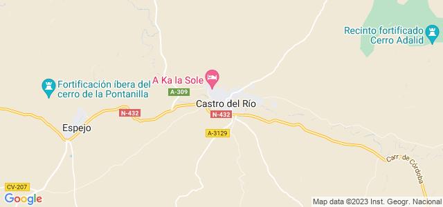 Mapa de Castro del Río