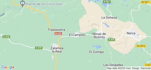 Mapa de Campillo