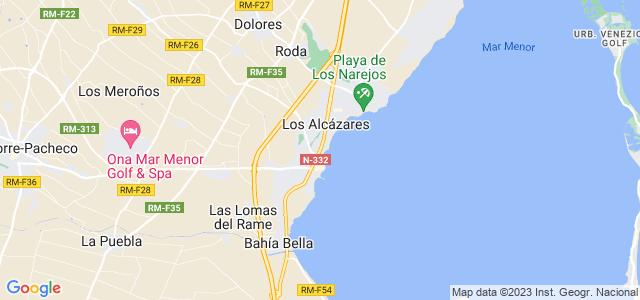 Mapa de Alcázares