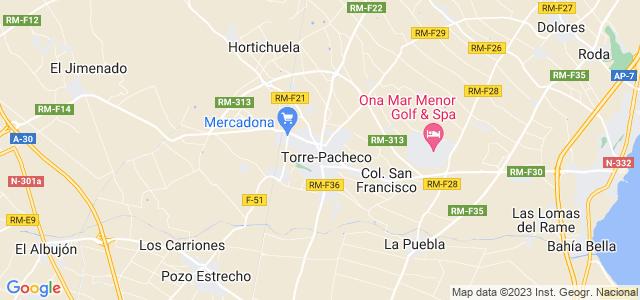 Mapa de Torre-Pacheco