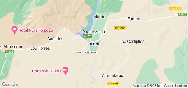 Mapa de Castril