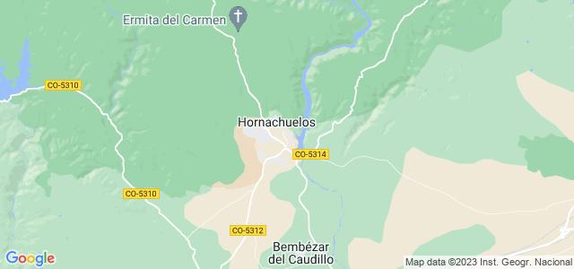 Mapa de Hornachuelos