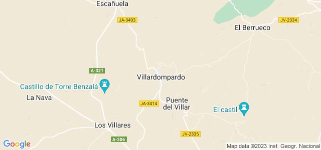 Mapa de Villardompardo