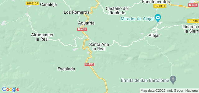 Mapa de Santa Ana la Real