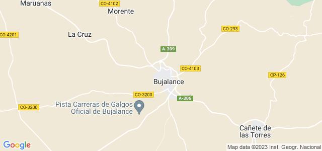 Mapa de Bujalance