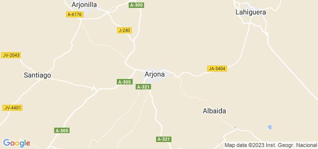 Mapa de Arjona