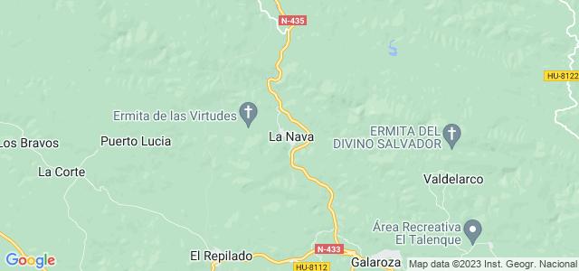 Mapa de Nava