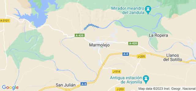 Mapa de Marmolejo