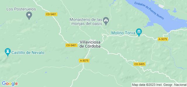 Mapa de Villaviciosa de Córdoba