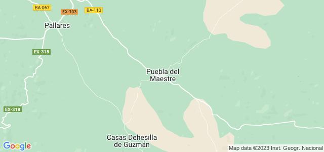 Mapa de Puebla del Maestre
