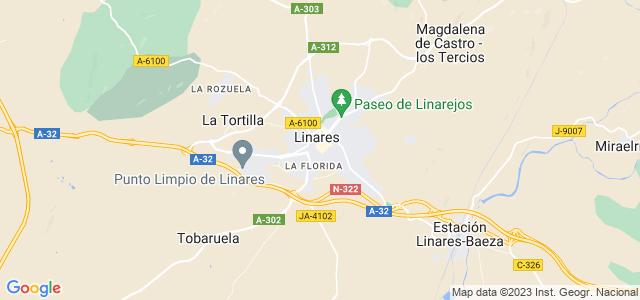 Mapa de Linares