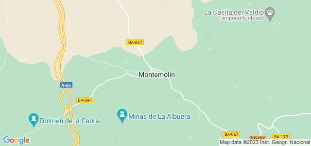 Mapa de Montemolín