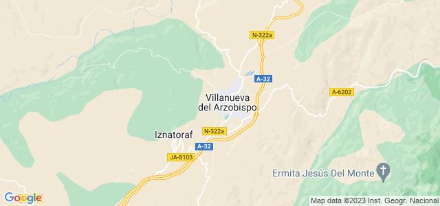 Mapa de Villanueva del Arzobispo