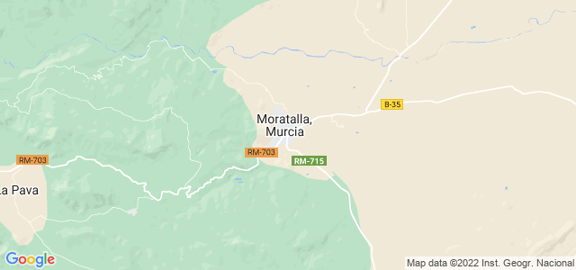 Mapa de Moratalla