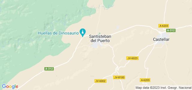 Mapa de Santisteban del Puerto
