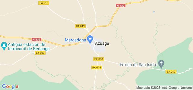 Mapa de Azuaga