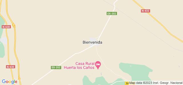 Mapa de Bienvenida