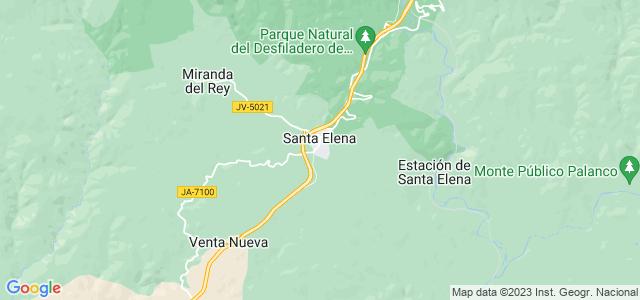 Mapa de Santa Elena