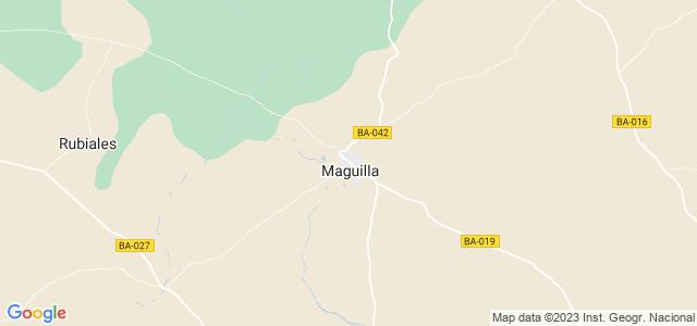 Mapa de Maguilla