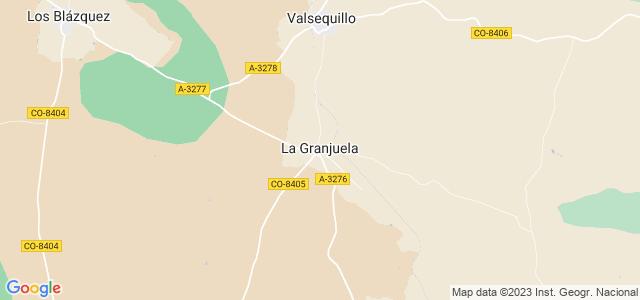 Mapa de Granjuela