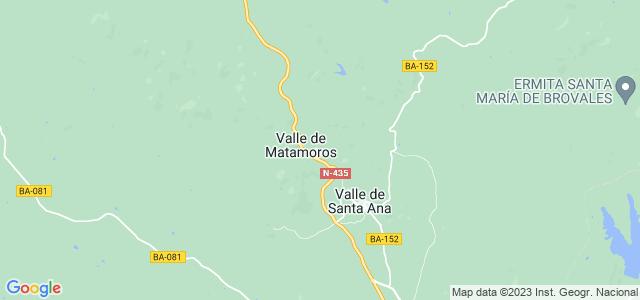 Mapa de Valle de Matamoros