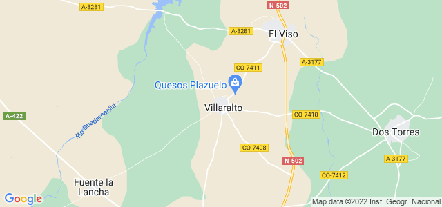 Mapa de Villaralto