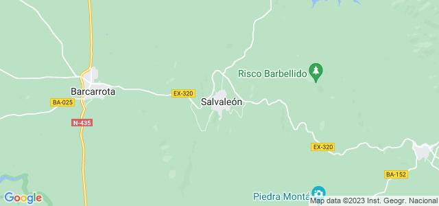 Mapa de Salvaleón