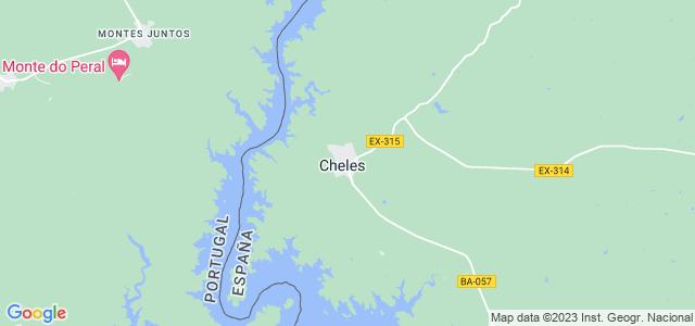 Mapa de Cheles