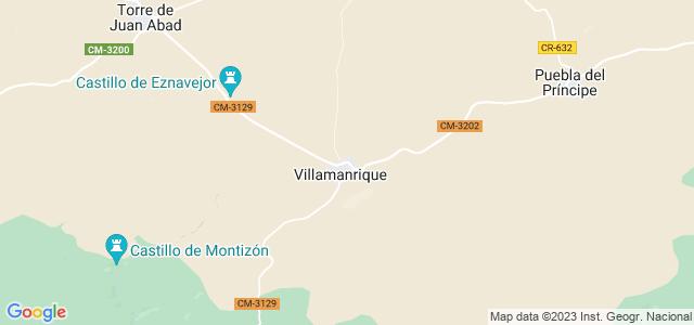 Mapa de Villamanrique