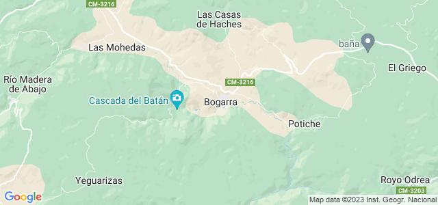Mapa de Bogarra