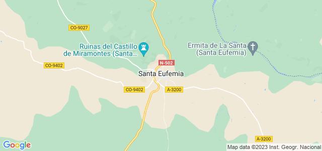 Mapa de Santa Eufemia